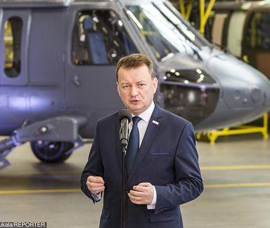 Mariusz Błaszczak zdradził, że do grudnia w polskiej armii będą latać Black Hawki