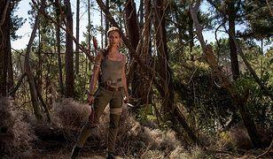 """Alicia Vikander jako Lara Croft na planie """"Tomb Raider"""""""