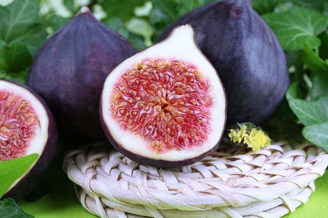 Figi są bogatym źródłem błonnika pokarmowego.