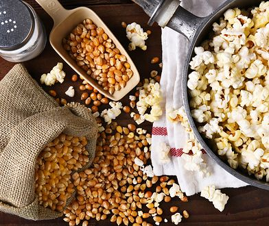 Popcorn nie tylko w kinie