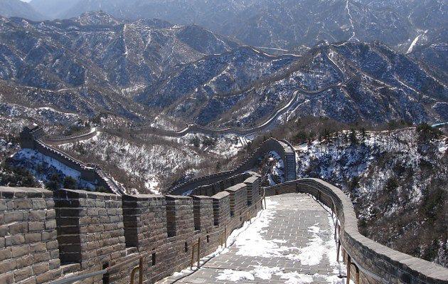 Niszczą Wielki Mur Chiński