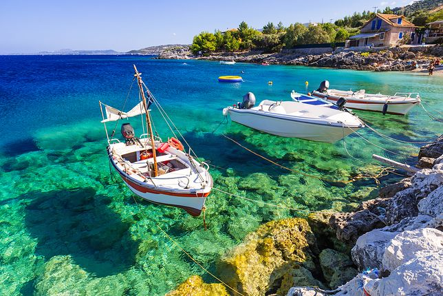 Wody wokół Zakynthos słyną z krystalicznej czystości