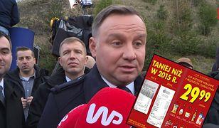 """Biedronka wprowadza promocję na """"koszyk Dudy"""". Będzie tańszy niż w 2015 roku"""