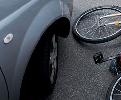 Policjant przejechał pieszego z rowerem i uciekł. Jest wyrok