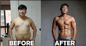 Schudł 20 kg po to, by jego żona mogła zajść w ciążę
