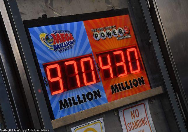 """USA. Loteria """"Mega Millions"""" - największa kumulacja w historii gier losowych"""