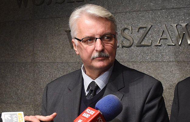 Waszczykowski: deklaracja NATO-Rosja z 1997 roku już nie obowiązuje