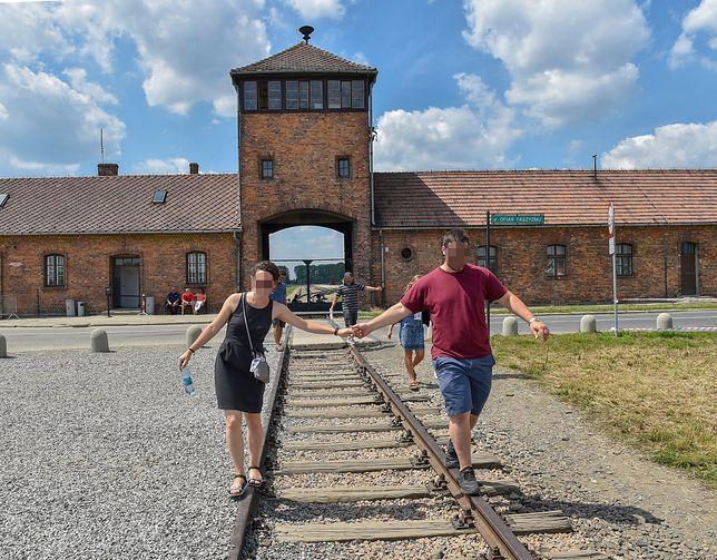 Niemiecki obóz zagłady  Auschwitz-Birkenau w Brzezince