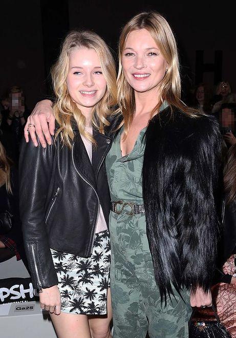 Lottie i Kate Moss