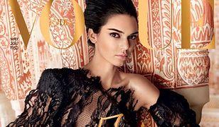 "Kendall Jenner w koronkowej sukience na okładce ""Vogue India"""