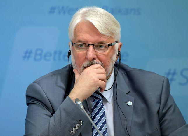 Witold Waszczykowski był jednym z 5 ministrów, którzy nie przetrwali rekonstrukcji rządu.