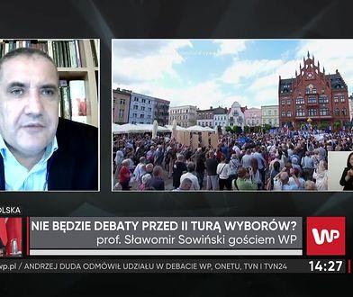 Wybory prezydenckie 2020.Rafał Trzaskowski na debacie TVP? Prof. Sławomir Sowiński: To dla niego szansa