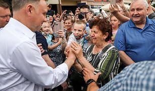 Wybory 2020. Andrzej Duda ma codziennie kilka spotkań na wiecach wyborczych