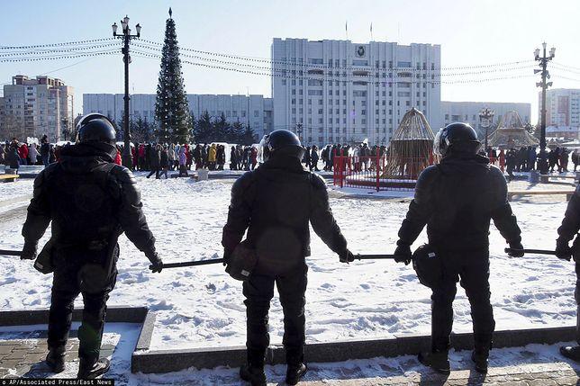 Rosja. Aleksiej Nawalny aresztowany. W całym kraju odbyły się protesty w jego obronie
