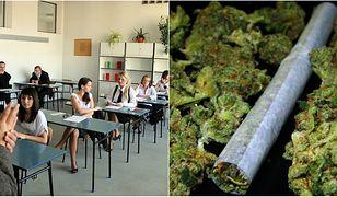 Na pogadance w jednej z wrocławskich szkół, policjanci znaleźli konopie indyjskie w plecaku jednego z uczniów.