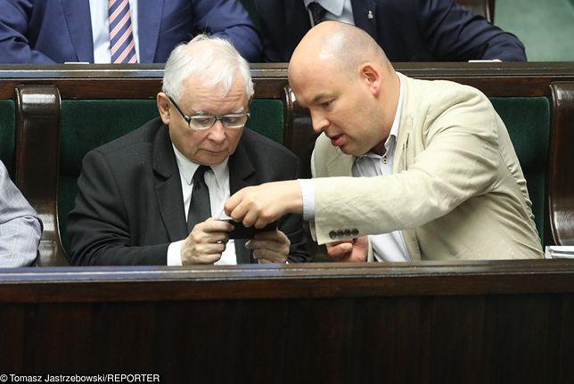 Jan Dziedziczak zapewnia, że nie latał z Markiem Kuchcińskim