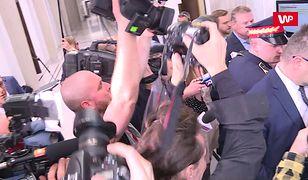 Szarpanina w Sejmie. Chcą reakcji komendanta Straży Marszałkowskiej