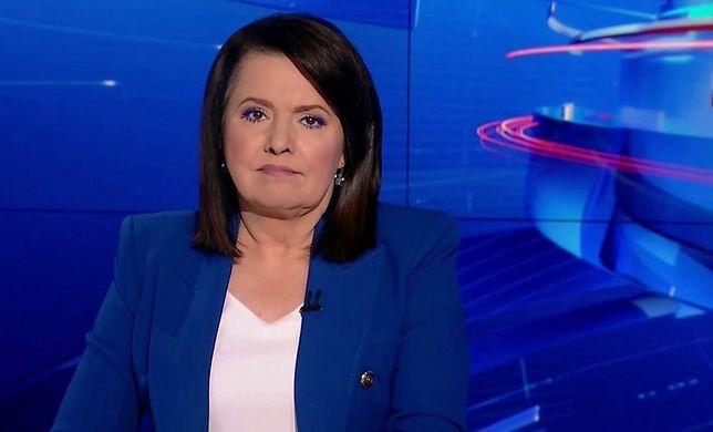 Danuta Holecka jest jedną z twarzy programów informacyjnych TVP i TVP Info