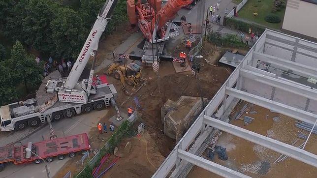 Sieć Aldi przeniosła zabytkowy schron z placu budowy. Będzie atrakcją dla klientów