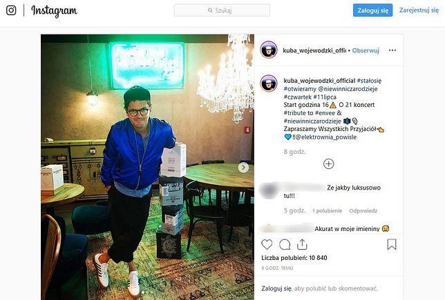 Informacją o otwarciu restauracji Wojewódzki podzielił się na Instagramie.