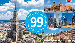 Warszawa - 99 miejsc / 99 Places / 99 Plätze / 99 мест / 99 Lugares