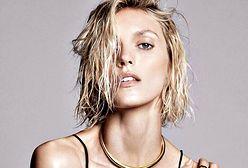 Anja Rubik nie potrzebuje ubrań, by reklamować luksusową biżuterię Menē