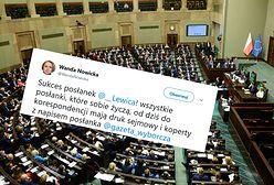 Żeńskie końcówki w Sejmie. Sukces posłanek z Lewicy