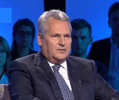 Aleksander Kwaśniewski ocenił działalność prezydenta Andrzeja Dudy