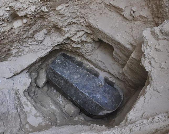 Odnaleziony sarkofag sprzed 2000 lat