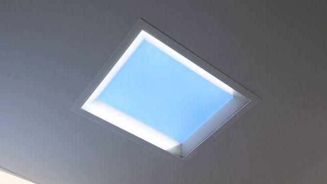 Ekran LED wygląda jak prawdziwe okno