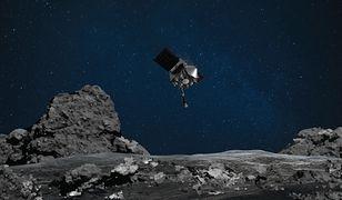 """NASA """"wciągnie w przelocie"""" skały z planetoidy Bennu"""