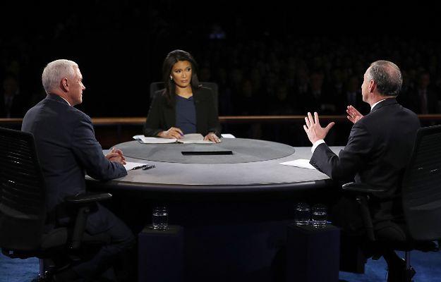 Kandydaci na wiceprezydentów starli się w debacie telewizyjnej
