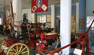 W jednym z oddziałów Muzeum Historycznego w Bielsku-Białej, Starej Fabryce, są prezentowane wozy strażackie