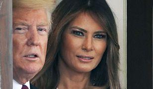 Melania Trump dementuje informacje o problemach z mężem