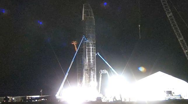 Przygotowania i sam start prototypu Starship Mk1 można oglądać na żywo