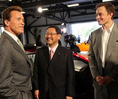 Arnold Schwarzenegger pożyczy swój samochód Grecie Thunberg.