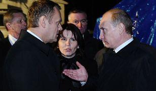Magda Fitas-Dukaczewska tłumaczyła rozmowę Donalda Tuska z Władimirem Putinem