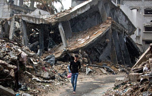 Zniszczenia w Gazie