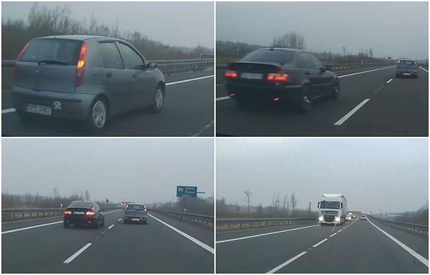 Tak się wyprzedza na polskich drogach