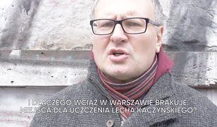 Lisicki rzuca wyzwanie Żakowskiemu. Chodzi o aleję Lecha Kaczyńskiego.