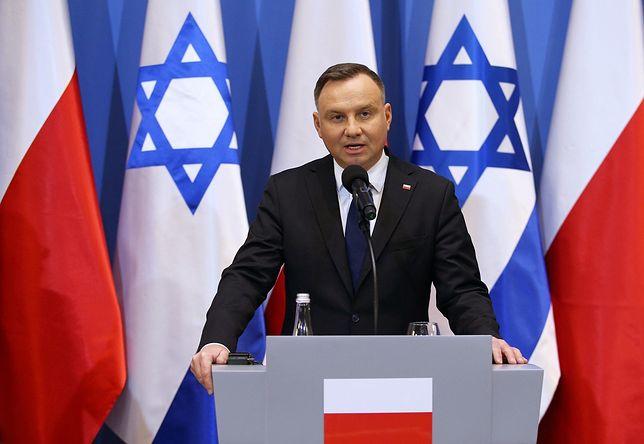 Wyniki wyborów 2020. Światowy Kongres Żydów gratuluje Andrzejowi Dudzie reelekcji