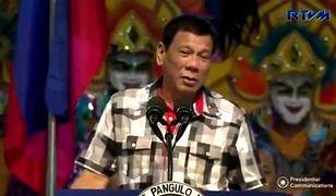 Prezydent Filipin: Zrezygnuję, gdy zobaczę selfie z Bogiem