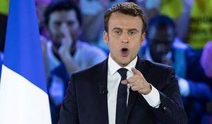 """Emmanuel Macron nie chce """"krajów, które nie chcą przyjąć części ciężaru"""" w strefie Schengen"""
