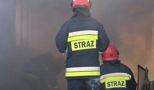 W zdarzeniu brało udział sześć zastępów straży pożarnej