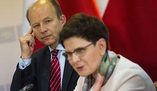Minister Konstanty Radziwiłł i premier Beata Szydło