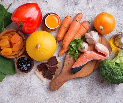 Dieta bogata w beta-karoten