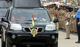 Administracja nowego przywódcy Ghany nie może doliczyć się ponad 200 aut z prezydenckiej floty