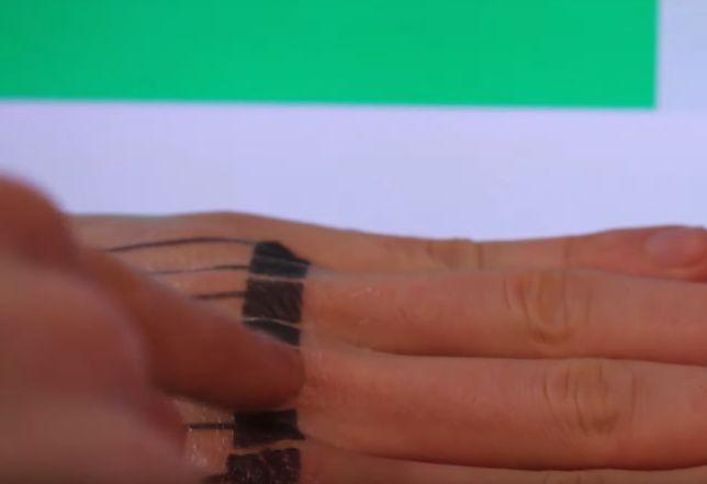 Naklejane tatuaże pozwalające np. regulować głośność muzyki czy sterować tym co się dzieje na ekranie. Czy to ma sens?