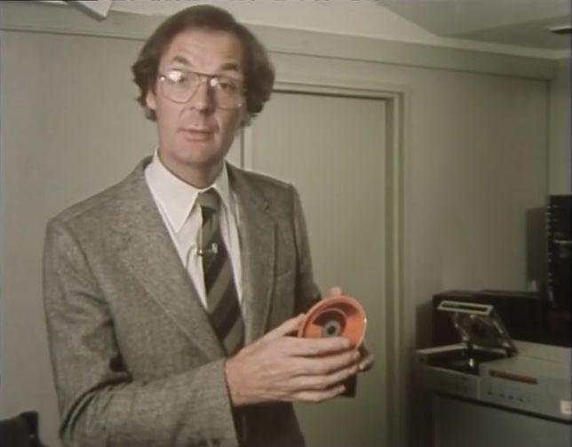 CD-Rom, czyli pinakiel zapisu muzyki z początku lat 80.