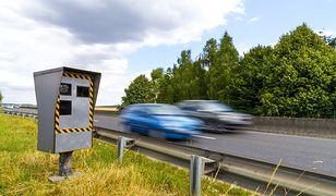 Fotoradar na drodze